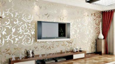 تركيب ورق حائط
