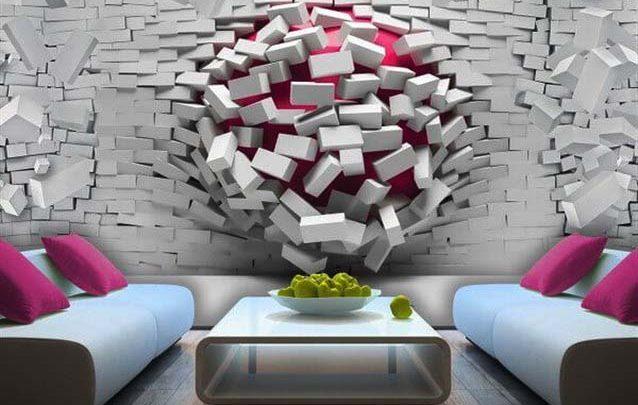 ورق حائط 3d كافة الأشكال والتصاميم واهم النصائح والتفاصيل