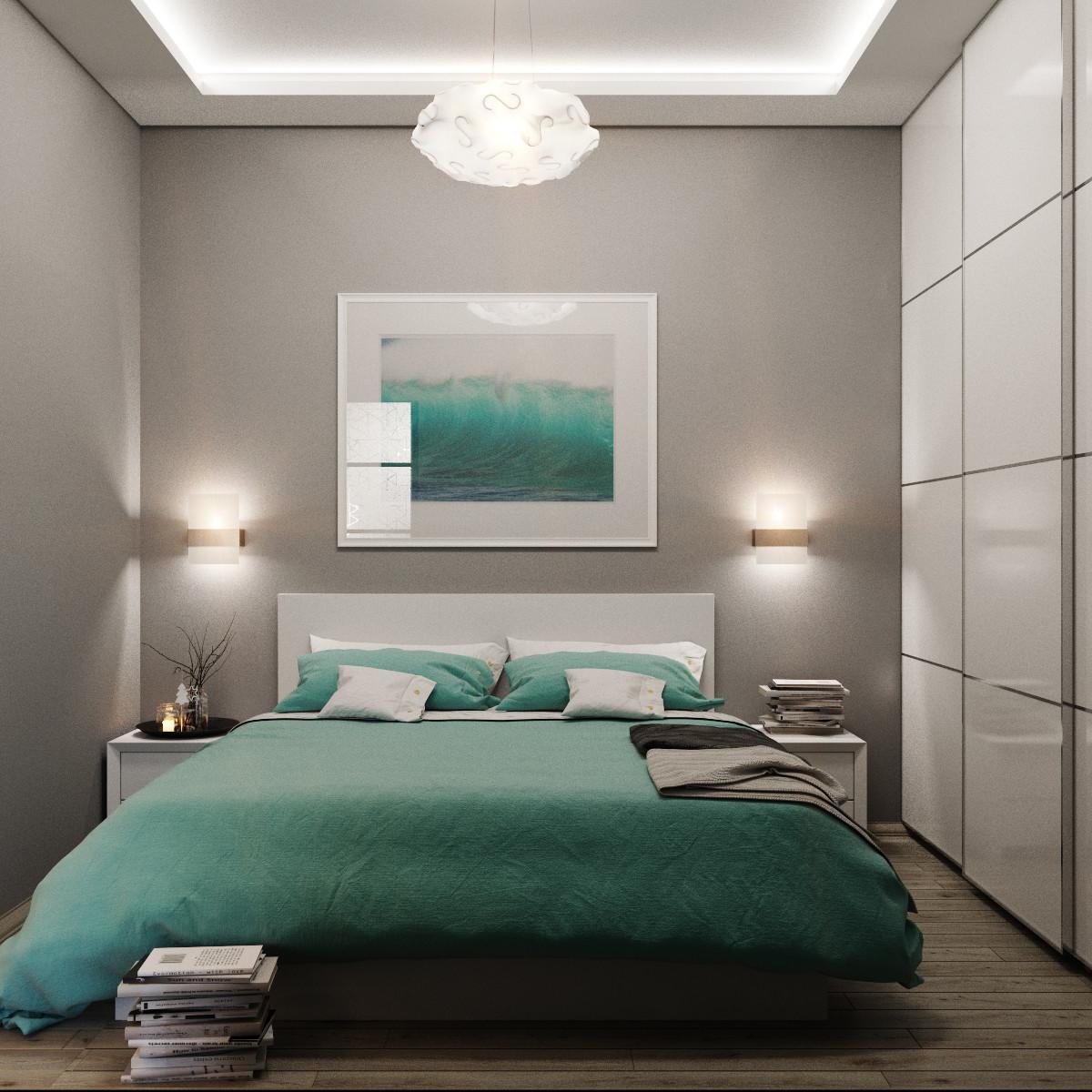 إضاءة مميزة لغرف النوم
