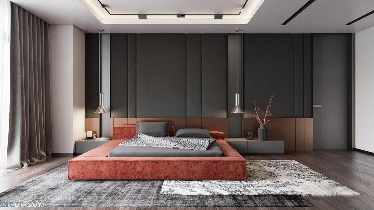 تصميم غرفة نوم واسعة